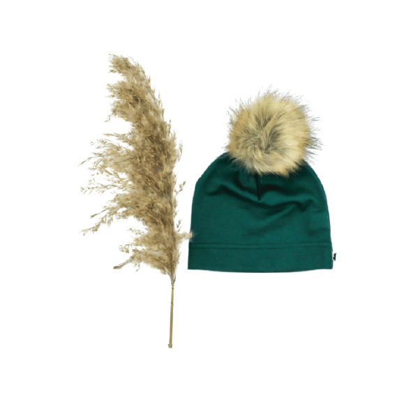Little & Lively - Pom Pom Beanie - Juniper