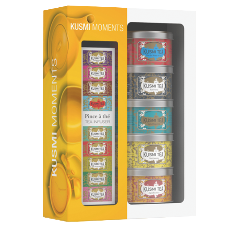 Kusmi Tea Moments Gift Set with Infuser