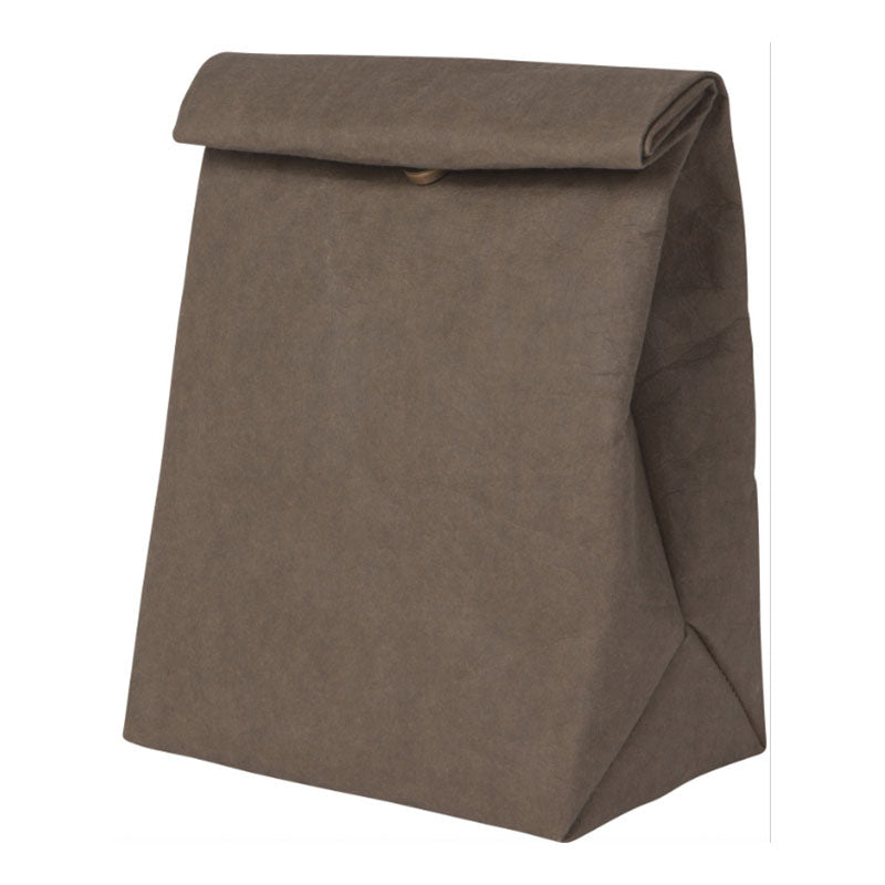 Olive Paper Lunch Bag