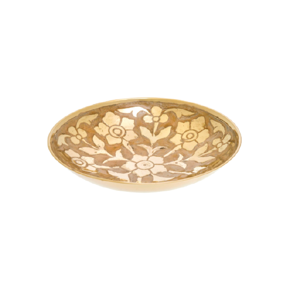 Primrose Brass Decor Bowl M