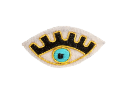 Watchful Eye Patch Pin
