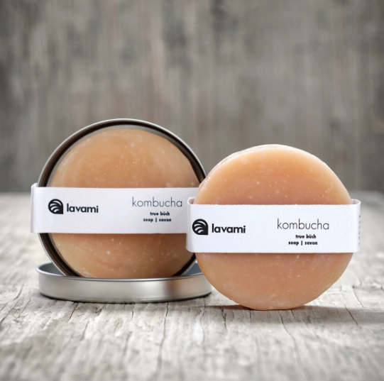 Lavami - Kombucha Soap with Tin