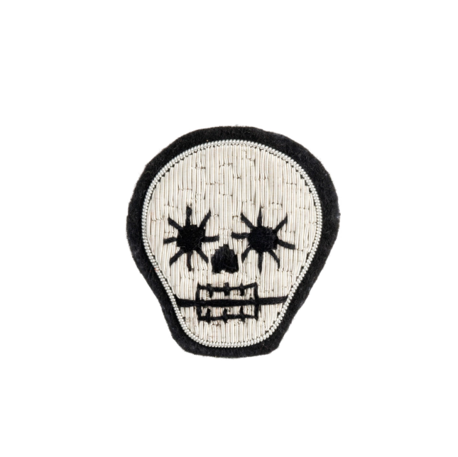 Skull Patch Pin