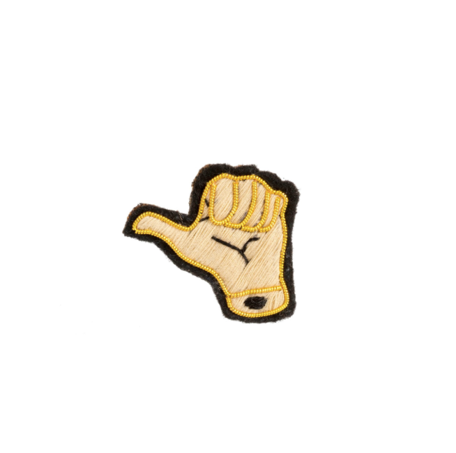 Thumbs Up Patch Pin