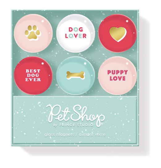 Dog Lover Magnet Set