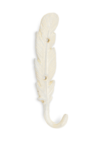 Slim Feather Wall Hook