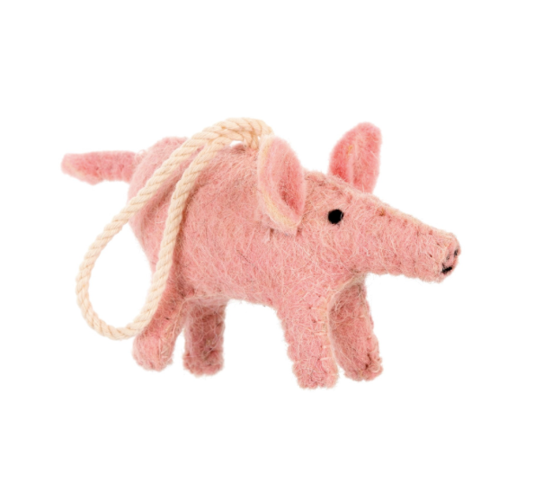 Hallie Hog Ornament