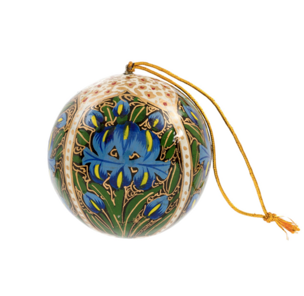 Blue Iris Kashmiri Ornament