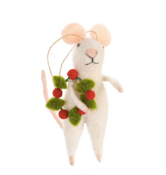 Jolly Jones Mouse Ornament