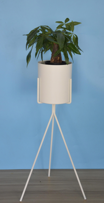 Floor Planter with Tripod Stand 26""