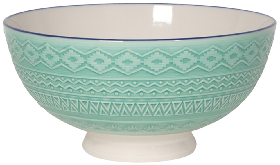 Moroccan Serving Bowl 8 inches