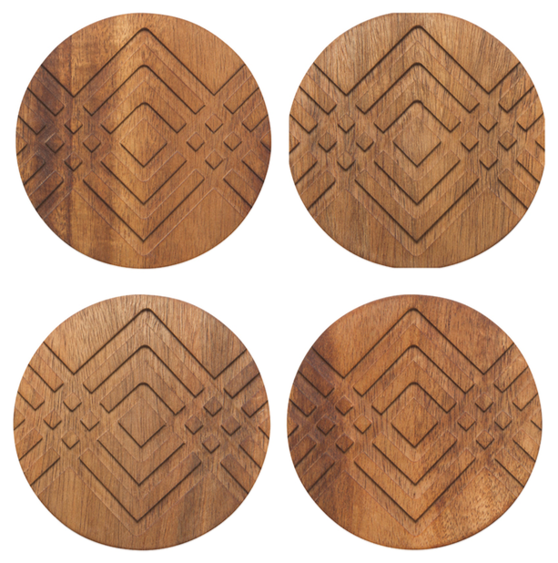 Geo Facet Coaster Set/4