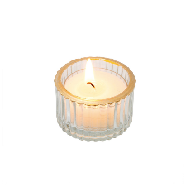 Golden Rim Tealight S