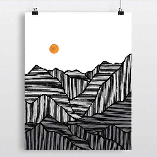 The Divide Print
