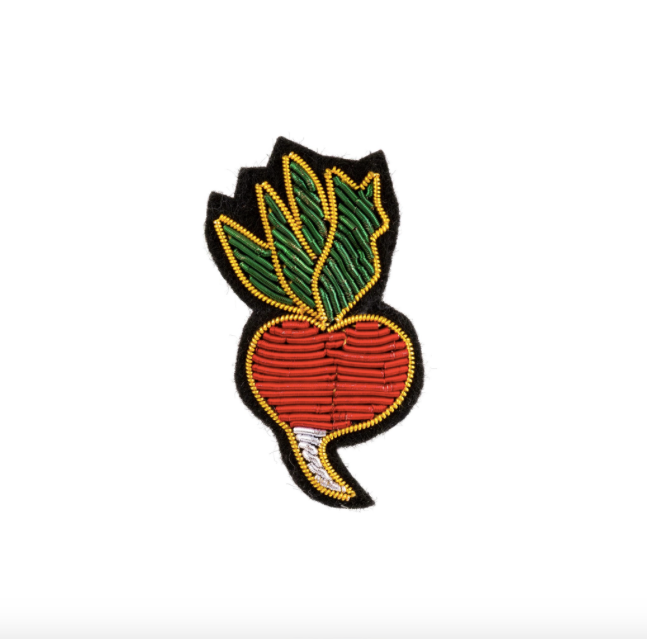 Radish Patch Pin
