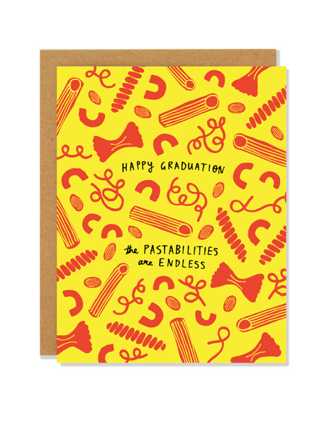 Graduation Pastabilities Card
