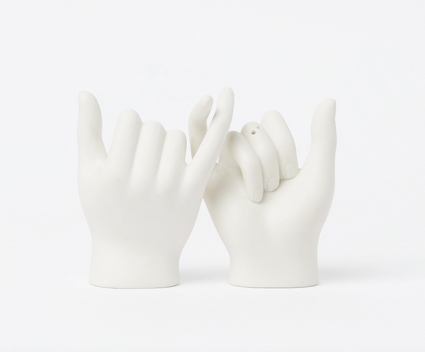 Pinky Swear Salt + Pepper Shakers