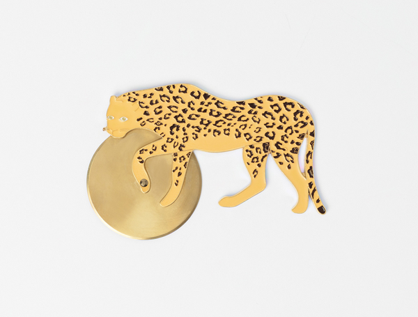 Savanna Cheetah Pizza Cutter