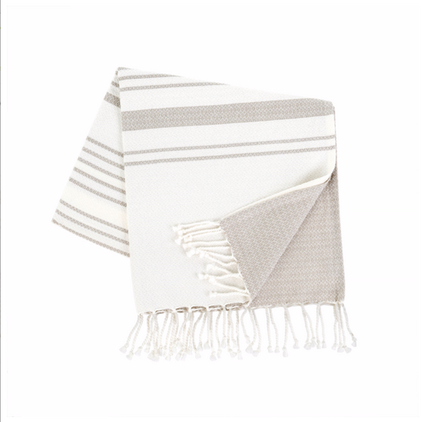 Turkish Bath Towel, Grey