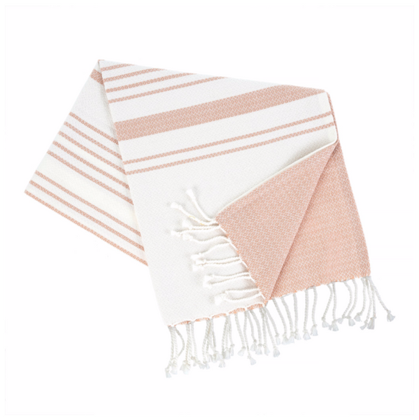Turkish Bath Towel, Pink