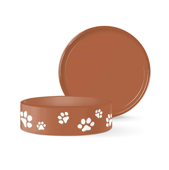 Terracotta Paws Small Pet Bowl