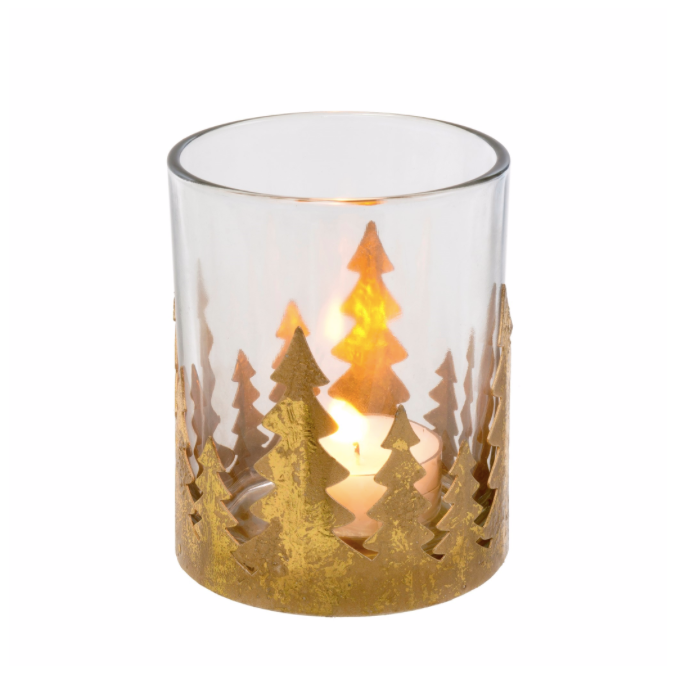Metallic Forest Votive