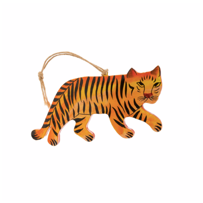 Tiger Kashmiri Ornament