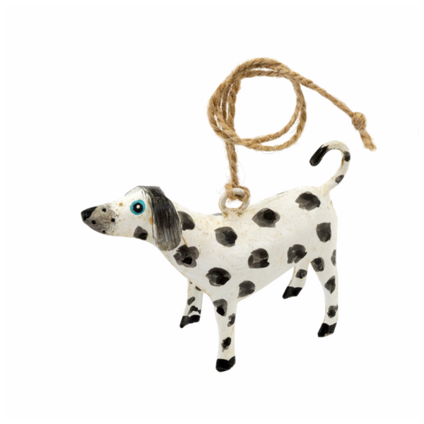 Spotty Dog Iron Ornamnet