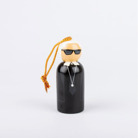 Karl Lagerfeld Peg Ornament