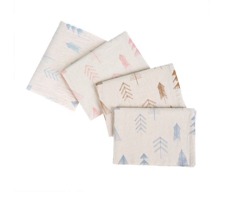 Festive Tree Tea Towels, S/4
