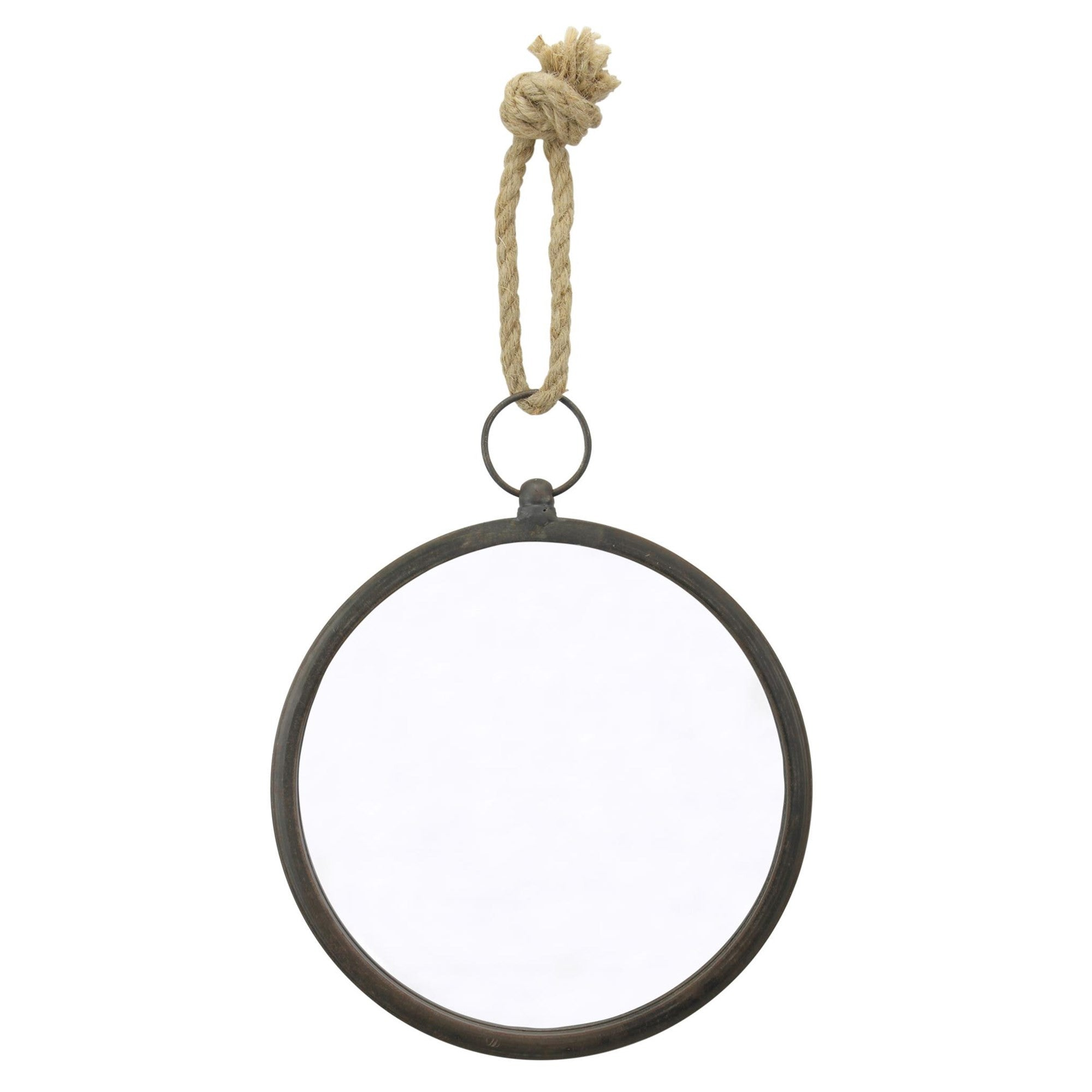 Small Round Nautical Mirror