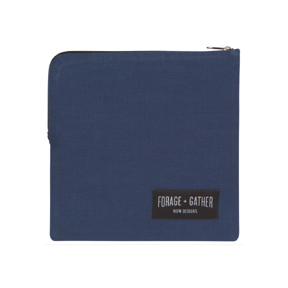 Forage + Gather Snack Bag - Blue