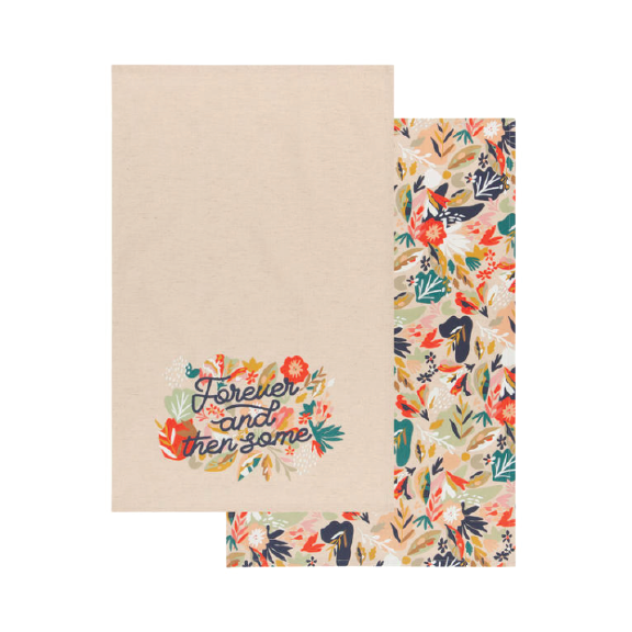 Superbloom Tea Towel Set/2