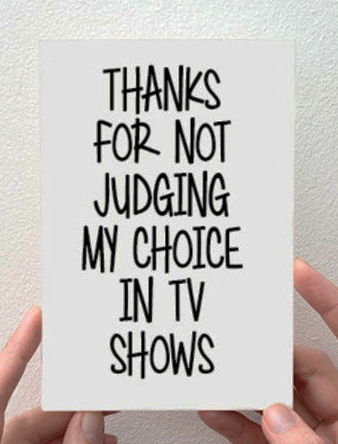 TV Choices Card