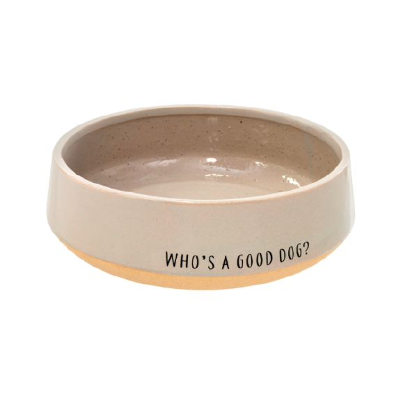 Who's A Good Dog Bowl