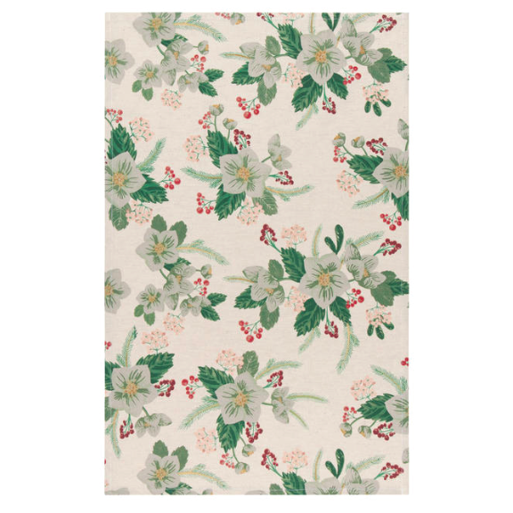 Winterbloom Tea Towel