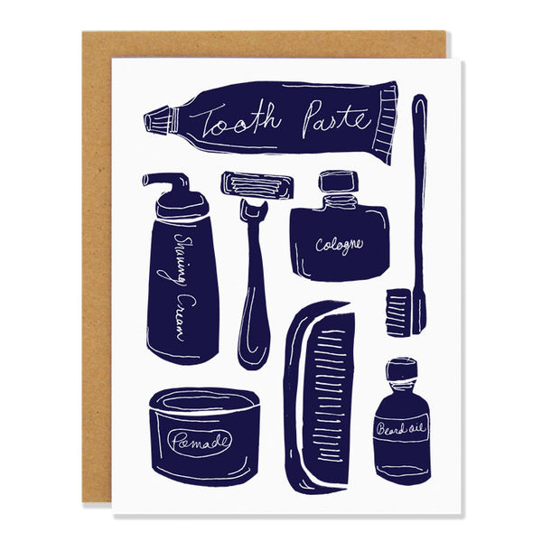 Grooming Essentials Card