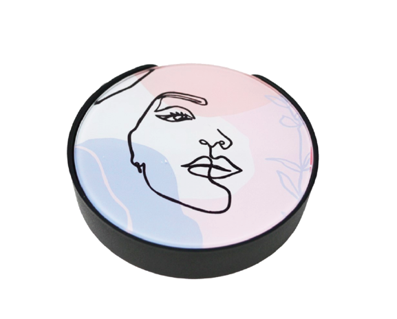 Face Coasters Set of 4