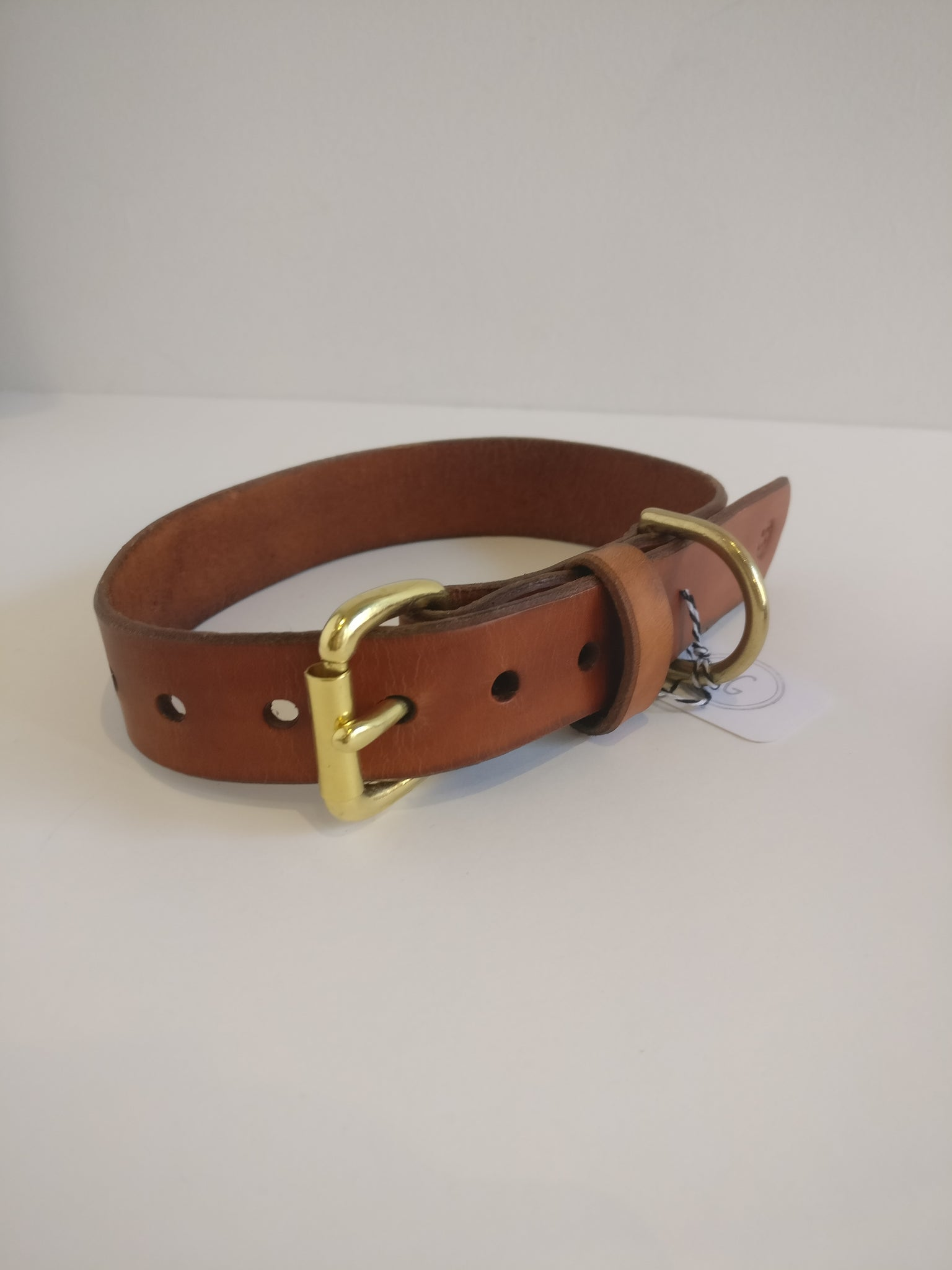 Medium Dog Collar - Brown