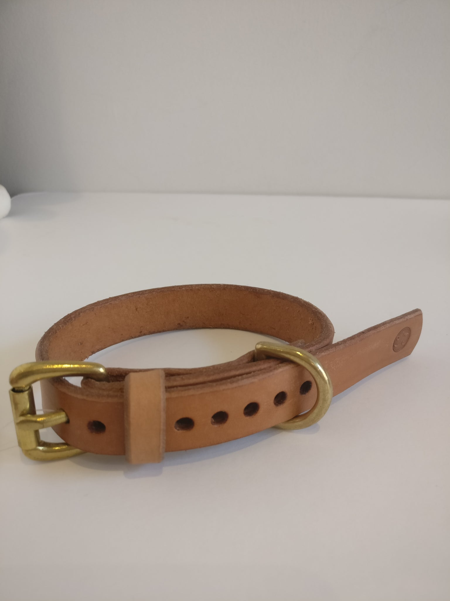 Small Dog Collar - Brown