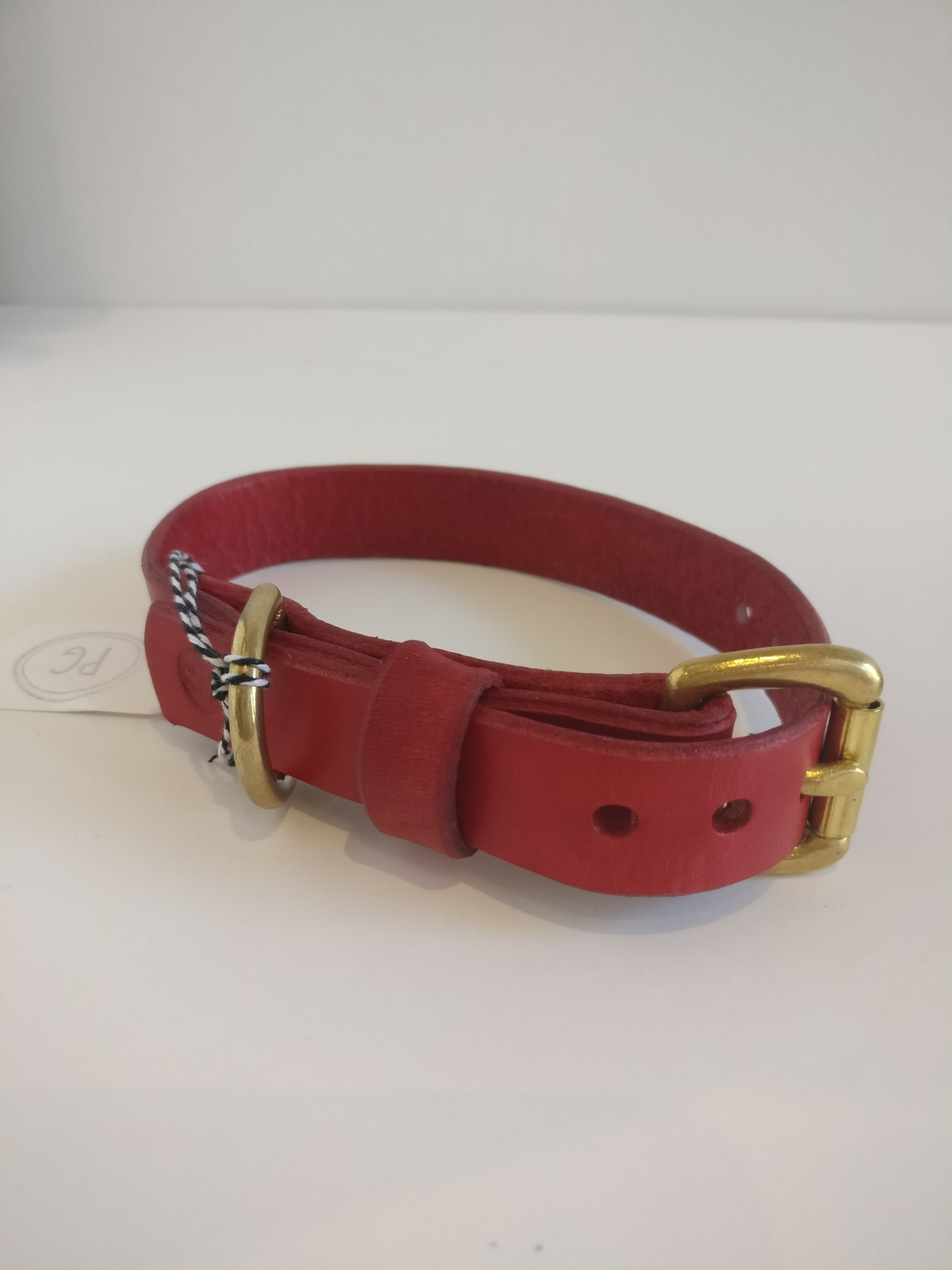Small Dog Collar - Red
