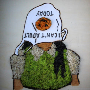 Moss Art: 'A Case of the Mondays'