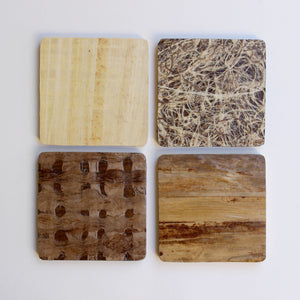 Wooden Coasters: 'Upcycle This'