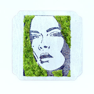 Moss Art: 'I Am Not My Hair'