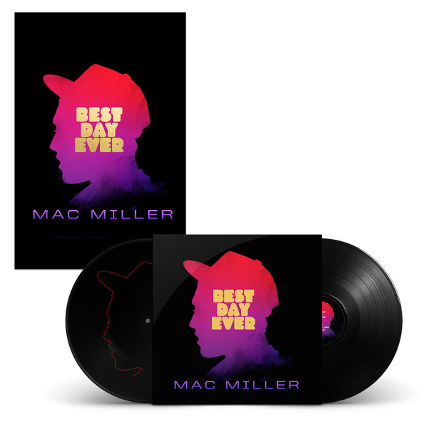 Mac Miller Best Day Ever LP, Litho, Download
