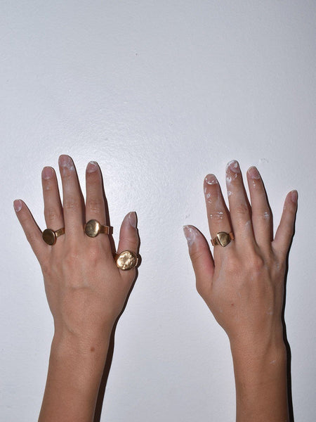 Signet Rings / Lili T. California