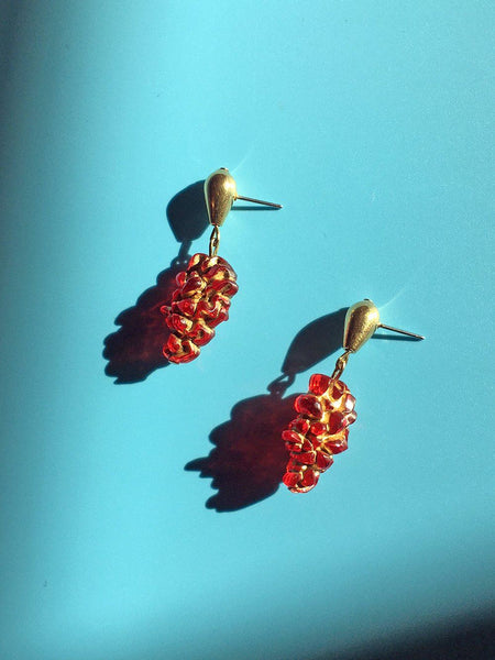 Deirdre Cluster Drop Earring / This Woman's Work
