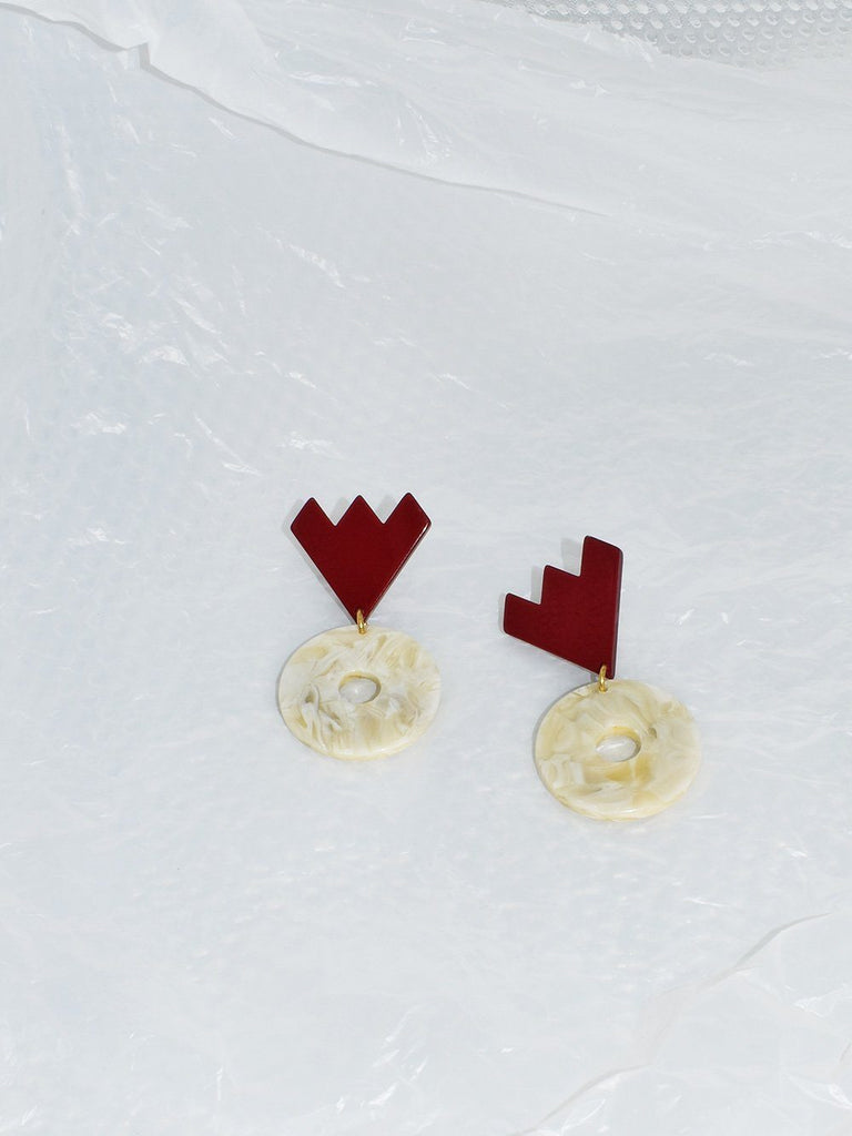 Apres Ski Luka Creme Earrings
