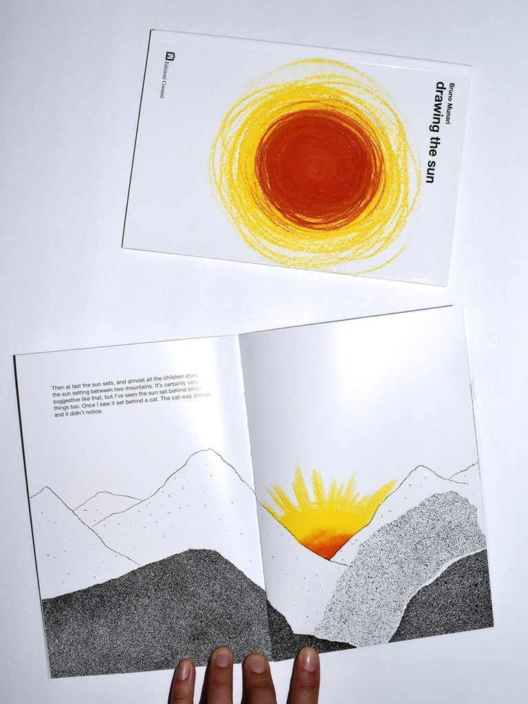 Bruno Munari Drawing the Sun