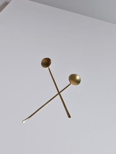 Desert Rose Brass Spoon